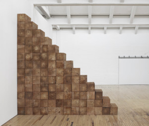 Carl Andre, Triskaidek, New York, 1979.  Installation view, Carl Andre: Sculpture as Place, 1958–2010, Dia:Beacon, Riggio Galleries, Beacon, New York.  May 5, 2014–March 2, 2015.  Art © Carl Andre/Licensed by VAGA, New York, NY. Photo: Bill Jacobson Studio, New York.